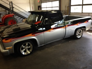 1985 Chevy Custom Shortbed